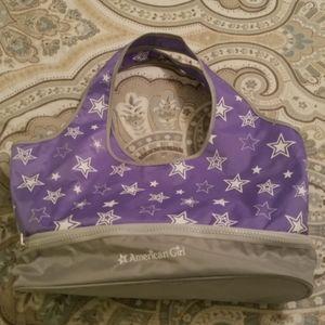 American Girl travel bag